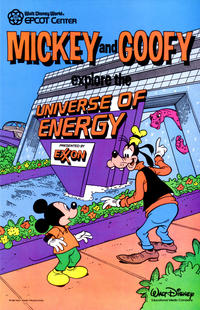 Cover Thumbnail for Mickey Mouse and Goofy Explore The Universe of Energy (Disney, 1985 series) #[nn]