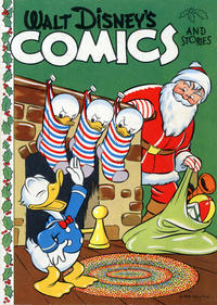 Cover Thumbnail for Walt Disney's Comics and Stories [Christmas Giveaway] (Western, 1943 series) #[nn]