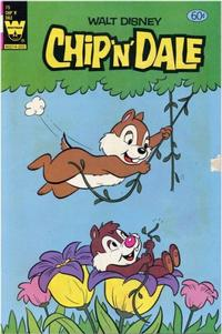 Cover for Walt Disney Chip 'n' Dale (Western, 1967 series) #75 [Yellow Whitman Logo Variant]