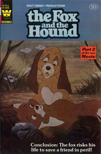 Cover Thumbnail for Walt Disney The Fox and the Hound (Western, 1981 series) #2