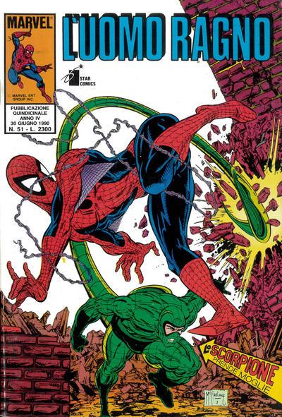 Cover for L' Uomo Ragno (Edizioni Star Comics, 1987 series) #51