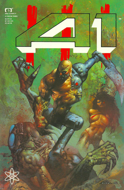 Cover for A1 (Marvel, 1992 series) #3