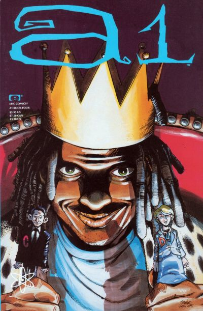 Cover for A1 (Marvel, 1992 series) #4