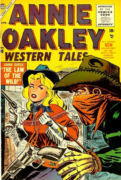 Cover for Annie Oakley (Marvel, 1955 series) #10