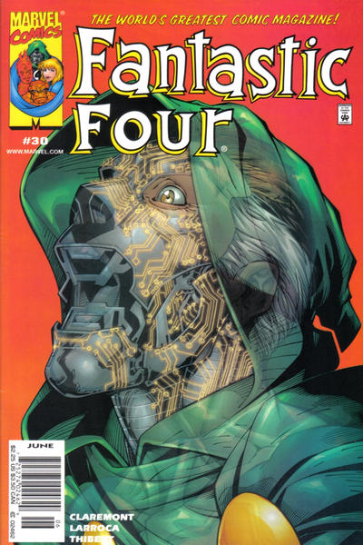 Cover for Fantastic Four (Marvel, 1998 series) #30 [Direct Edition]