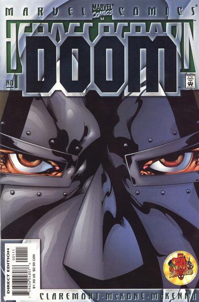 Cover for Heroes Reborn: Doom (Marvel, 2000 series) #1