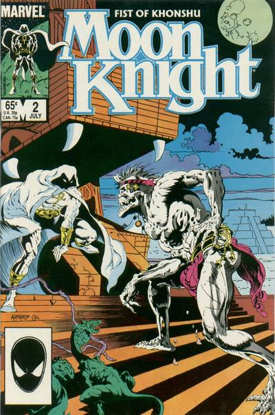 Cover for Moon Knight (Marvel, 1985 series) #2