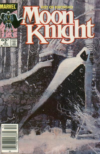 Cover for Moon Knight (Marvel, 1985 series) #6 [Newsstand]