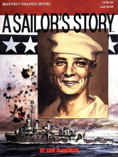 Cover for Marvel Graphic Novel: A Sailor's Story (Marvel, 1987 series)