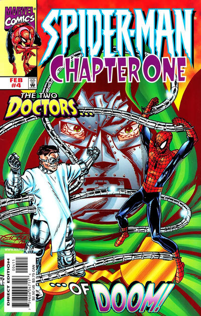 Cover for Spider-Man: Chapter One (Marvel, 1998 series) #4