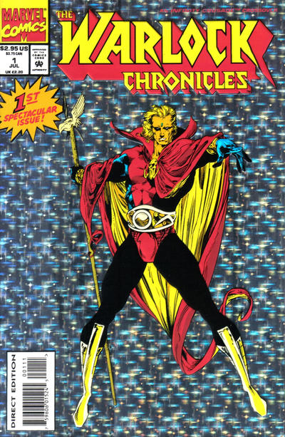 Cover for Warlock Chronicles (Marvel, 1993 series) #1 [Direct Edition]