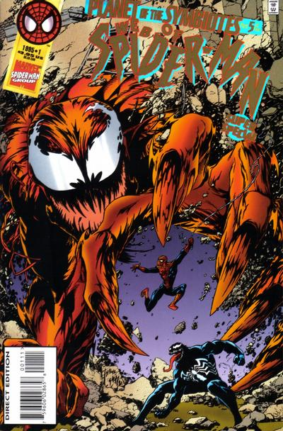 Cover for Web of Spider-Man Super Special (Marvel, 1995 series) #1