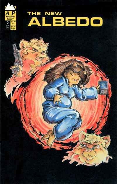 Cover for Albedo (Antarctic Press, 1991 series) #2