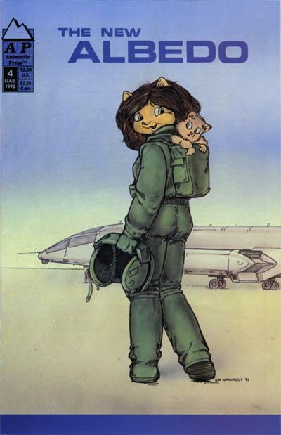 Cover for Albedo (Antarctic Press, 1991 series) #4