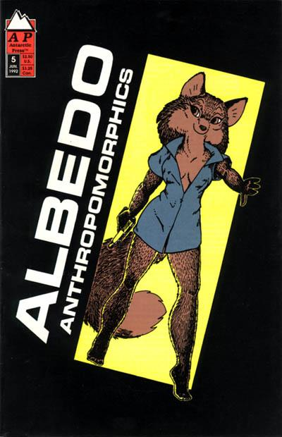 Cover for Albedo (Antarctic Press, 1991 series) #5