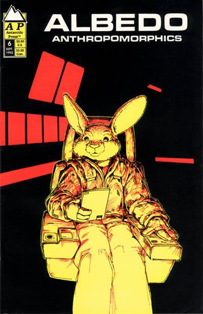 Cover for Albedo (Antarctic Press, 1991 series) #6