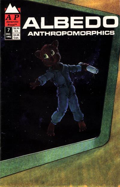 Cover for Albedo (Antarctic Press, 1991 series) #7
