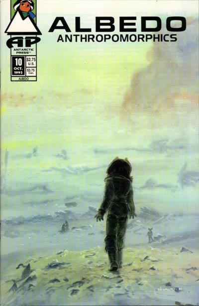 Cover for Albedo (Antarctic Press, 1991 series) #10