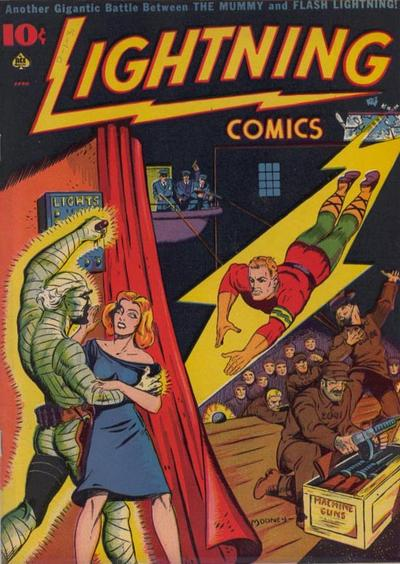 Cover for Lightning Comics (Ace Magazines, 1940 series) #v1#6