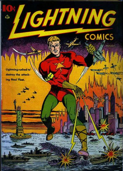Cover for Lightning Comics (Ace Magazines, 1940 series) #v2#2