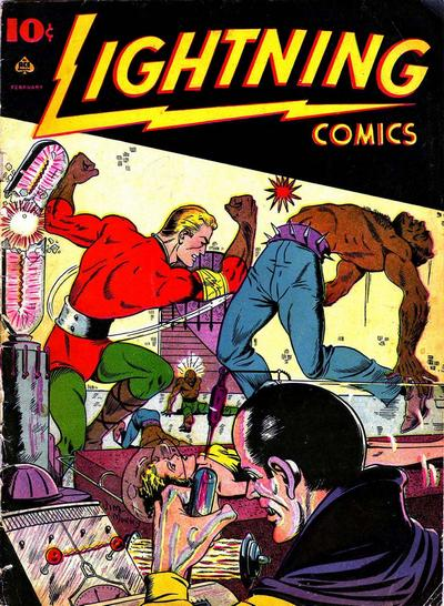Cover for Lightning Comics (Ace Magazines, 1940 series) #v2#5