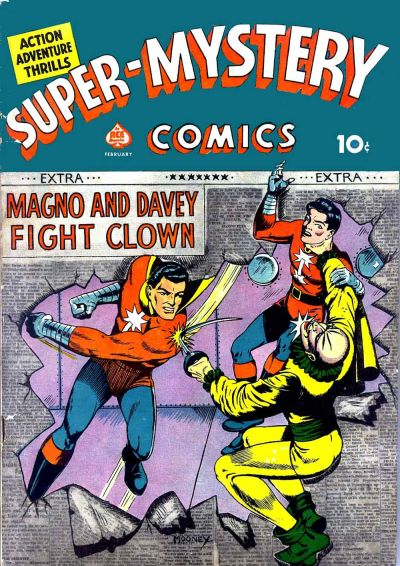 Cover for Super-Mystery Comics (Ace Magazines, 1940 series) #v1#6