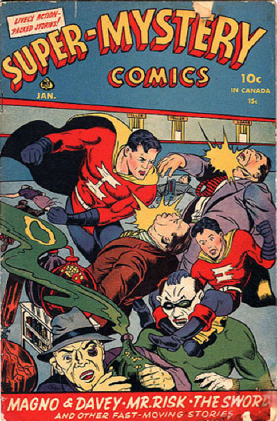 Cover for Super-Mystery Comics (Ace Magazines, 1940 series) #v4#5
