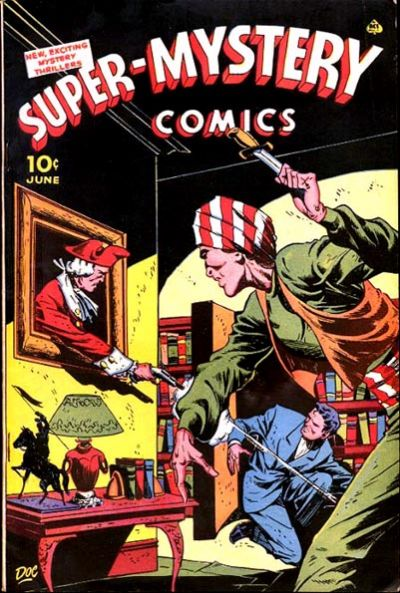 Cover for Super-Mystery Comics (Ace Magazines, 1940 series) #v5#6