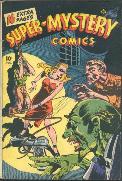Cover for Super-Mystery Comics (Ace Magazines, 1940 series) #v6#1
