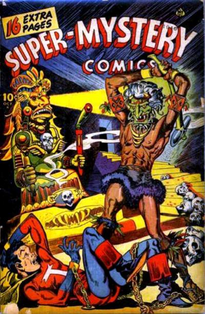 Cover for Super-Mystery Comics (Ace Magazines, 1940 series) #v6#2