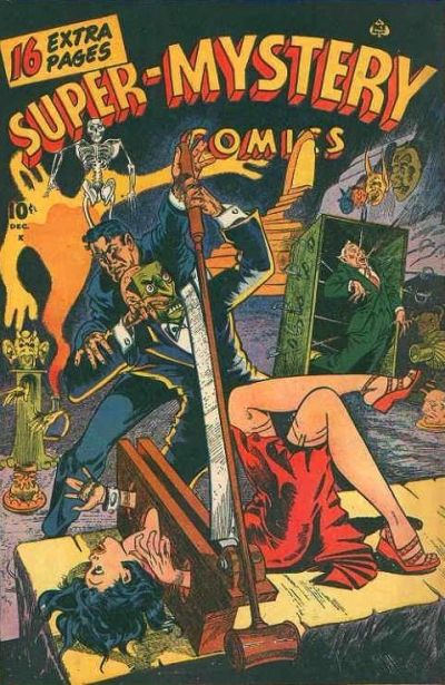 Cover for Super-Mystery Comics (Ace Magazines, 1940 series) #v6#3