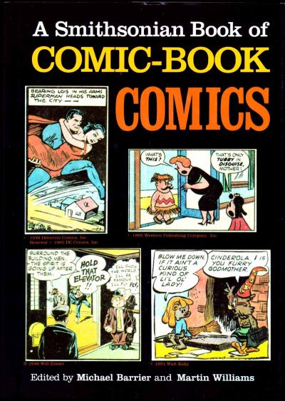 Cover for A Smithsonian Book of Comic-Book Comics (Smithsonian Institution / Harry N Abrams, 1981 series)