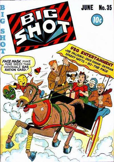 Cover for Big Shot (Columbia, 1942 series) #35