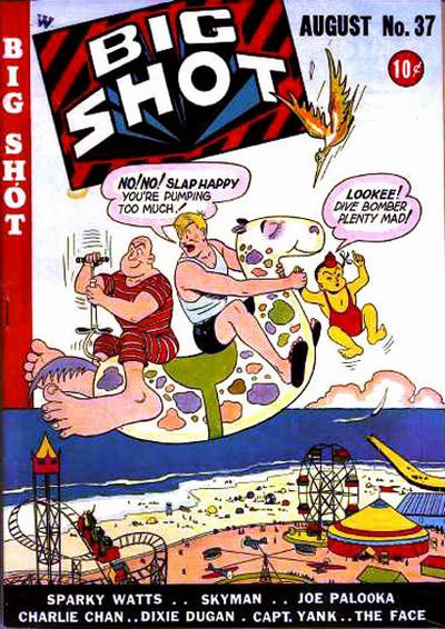 Cover for Big Shot (Columbia, 1942 series) #37