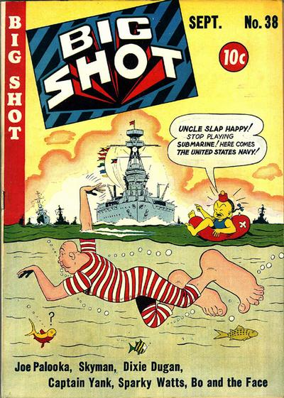 Cover for Big Shot (Columbia, 1942 series) #38