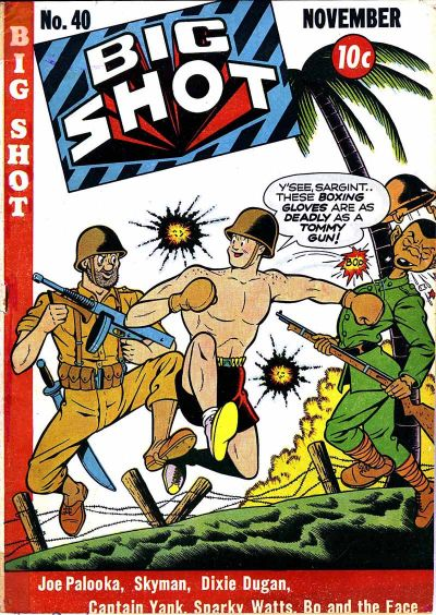 Cover for Big Shot (Columbia, 1942 series) #40