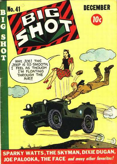 Cover for Big Shot (Columbia, 1942 series) #41