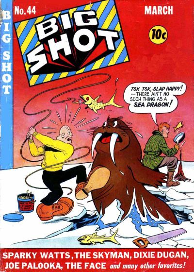 Cover for Big Shot (Columbia, 1942 series) #44