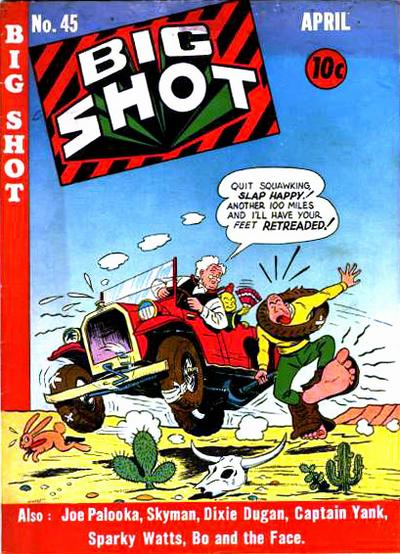 Cover for Big Shot (Columbia, 1942 series) #45
