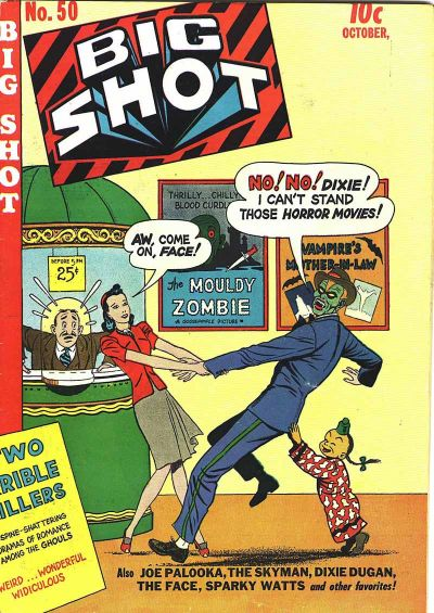 Cover for Big Shot (Columbia, 1942 series) #50