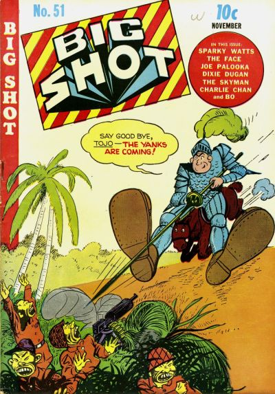 Cover for Big Shot (Columbia, 1942 series) #51