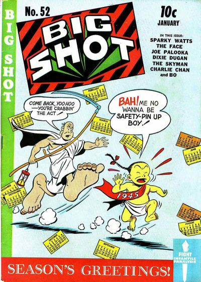 Cover for Big Shot (Columbia, 1942 series) #52