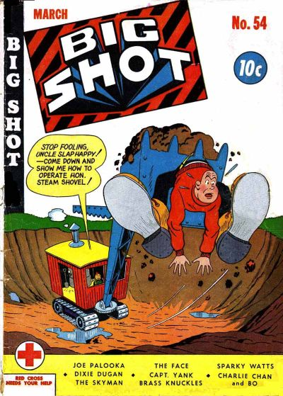 Cover for Big Shot (Columbia, 1942 series) #54