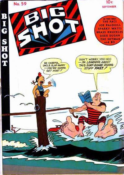 Cover for Big Shot (Columbia, 1942 series) #59