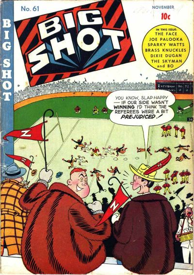 Cover for Big Shot (Columbia, 1942 series) #61