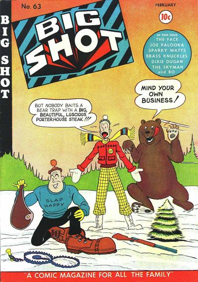 Cover for Big Shot (Columbia, 1942 series) #63