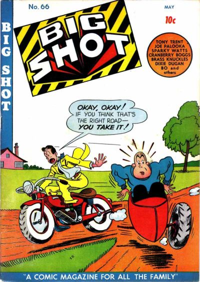 Cover for Big Shot (Columbia, 1942 series) #66