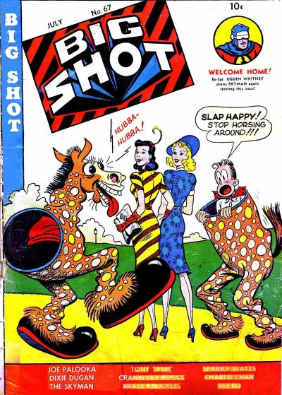 Cover for Big Shot (Columbia, 1942 series) #67
