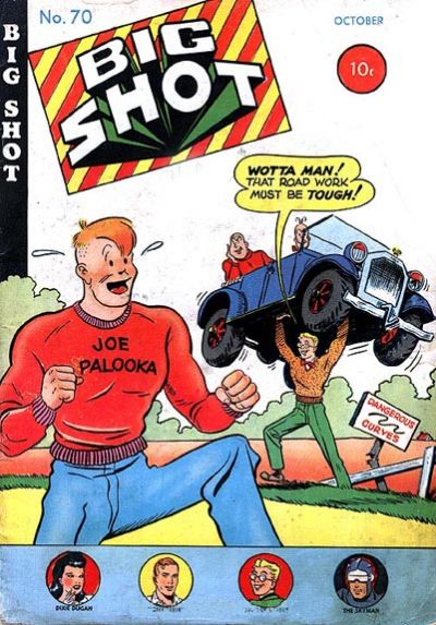Cover for Big Shot (Columbia, 1942 series) #70