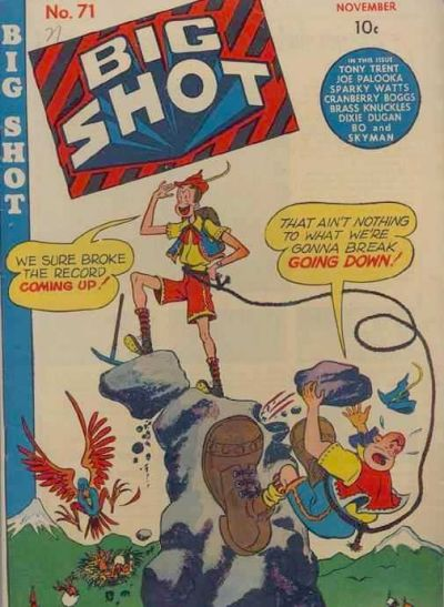 Cover for Big Shot (Columbia, 1942 series) #71